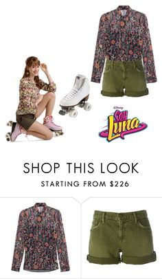 """soy luna"" by maria-look on Polyvore featuring RED Valentino, Current/Elliott and Riedell"