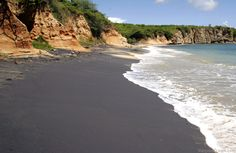 Playa Negrita - Black Sand Beach Vieques Island PR