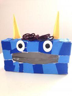 Kids Boxing, Kindergarten Activities, Tissue Boxes, Winter Craft, Diy Crafts, Classroom, Blue, Manualidades, Bricolage