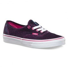VANS Authentic Shimmer magenta chaussures à paillettes 69,00 € #vans #vansotw #vansoffthewall #offthewall #vansera #vansauthentic #sneakers #sneaker #shoe #shoes #chaussure #chaussures #skate #skateboard #skateboarding #streetshop #skateshop @PLAY Skateshop