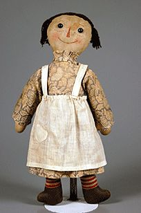 The Raggedy Ann doll was created by Johnny Gruelle in 1915   (image courtesy of raggedyannraggedyanydolls.com)