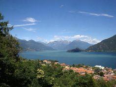 Lake Como view over #Bellagio www.hotel-posta.it