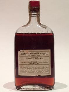 Silver Grove Bourbon 1917/1933 - Reverse   Another curious bourbon from Ohio, this one was bottled by the George T. Stagg Co and distilled by Edward H. Brinkman in Cincinnati.   | Medicinal Whiskey from Prohibition | LA Whiskey Society