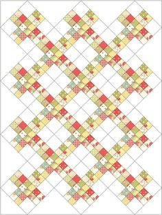 Great pattern for scraps!.