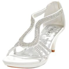 Nice Amazing New women's shoes evening rhinestones back zipper med heel wedding prom White 2017/18 Check more at http://topclothestore.com/gallery-prom-dresses/amazing-new-womens-shoes-evening-rhinestones-back-zipper-med-heel-wedding-prom-white-201718-2/