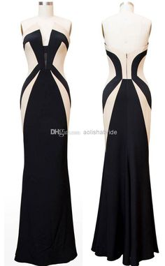 Wholesale Kerry Washington Scandal Celebrity Dresses Olivia Pope Black and White Evening Gowns Women Formal Dresses Red Carpet Dresses for Ladies, Free shipping, $148.46/Piece | DHgate Mobile