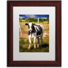 Trademark Fine Art Oh You Beautiful Doll Canvas Art by Lois Bryan White Matte, Wood Frame, Assorted