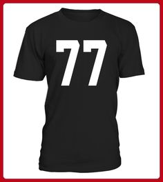 77 Sports Number TShirt for Team Fan My Favorite Player 77 - Fan shirts (*Partner-Link)