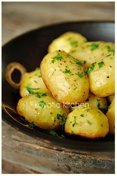Making these simple potatoes tonight....but of the chopped variety. We'll see how they turn out!