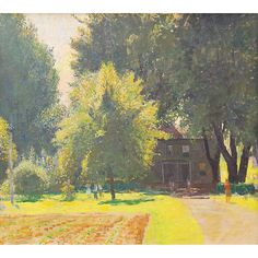 daniel garber paintings | unsigned; included in: Daniel Garber: Catalogue Raisonne