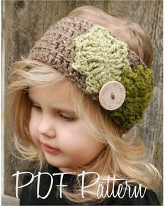 Crochet PATTERN-The Holleigh Warmer Toddler Child and Adult