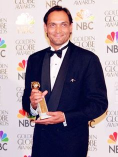 """Jimmy Smits (1995)     In 1995, the 56-year-old Nuyorican actor and NYPD Blue star won the Golden Globe for """"Best Actor in a TV Drama Series"""" for his role as detective Bobby Simone. The memorable character was killed off in 1998 after suffering a failed heart transplant."""