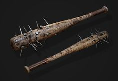 ArtStation - 2015 Scopely`s Walking Dead, Evgeniy Gottsnake Zombie Weapons, Zombie Apocalypse Survival, Pretty Hurts, Guns, Weapon Concept Art, The Revenant, Bioshock, Bow Hunting, Post Apocalyptic