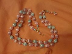 Pastels a Plenty Double Strand necklace - Free shipping
