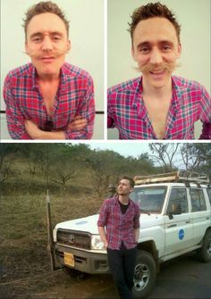 lolawashere:  Tom Hiddleston his red-plaid-shirt-of-joy and a...