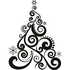 christmas decorations clipart black and white nice decoration rh pinterest com christmas tree black and white clipart christmas bells black and white clipart