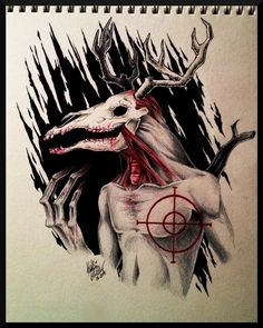 The Jersey Devil from The Wolf Among Us. Amazing art -Will
