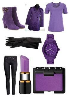 """""""Fnaf purple guy inspired outfit"""" by mangle87 ❤ liked on Polyvore"""