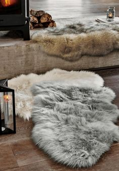 One MUST have to hygge up your home is soft, cosy textures - and we can't think of anything better than faux fur rugs! There's nothing better than returning home to your cosy space, kicking off your shoes and being welcomed by a warm, comfortable setting.