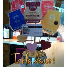 Craftdiction: Table Decor!  Do you follow my craft blog??  Lots of fun stuff not only for my Scentsy business but for my family!!  http://craftdiction.blogspot.com