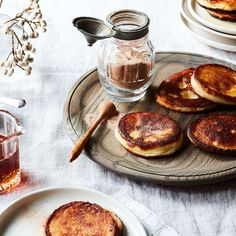 They are not, however, the original latke. That designation goes to kaese latkes, a delicate, lightly sweetened pancake made from soft curd cheese.