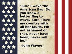 As John Wayne would say