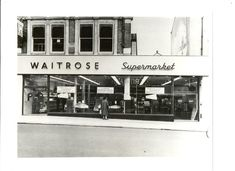 Waitrose in Streatham, year I wish it would be there again. The nearest is currently in Clapham. Vintage London, Old London, South London, New South, Waitrose Supermarket, High Road, The Row, Paths, Nostalgia