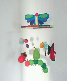 The very hungry caterpillar nursery mobile - colorful baby mobile 5 • £37.00