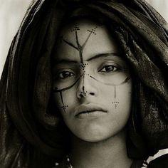 Inspiration | Beautiful #berber woman. #Ghubar #الجمال