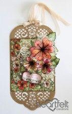 Ornate Lily Tag