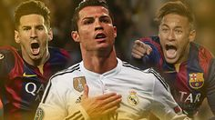 Ronaldo, Messi and Neymar to contest 2015 Ballon d'Or - http://footballersfanpage.co.uk/ronaldo-messi-and-neymar-to-contest-2015-ballon-dor/