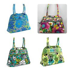 Vera Bradley Bowler-NWT-4 color choices-REDUCED!. Starting at $38
