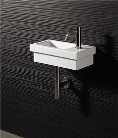 Attrayant Very Nice, But Iu0027ll Take The Ikea Version. Powder Room Tiny Sink