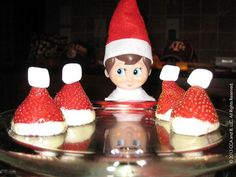 These hats look good enough to eat! | The Elf on the Shelf Ideas
