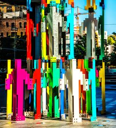 san francisco public art installation detail by joeeisner, via Flickr