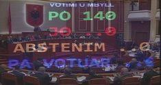Parlamenti shqiptar miraton me 140  vota Reformën në Drejtësi