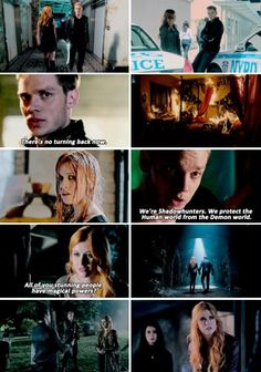 Shadowhunters❤ #clace