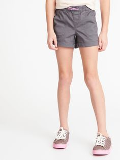 Cuffed Twill Pull-On Shorts for Girls Toddler Boy Gifts, Baby Girl Gifts, Gifts For Boys, Toddler Boys, Deal Sale, Old Navy Girls, Shop Old Navy, Short Girls, Girls Shopping