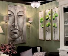 #habitare2014 #aadasisustus #sisustus #green #taulu Painting, Art, Art Background, Painting Art, Kunst, Paintings, Performing Arts, Painted Canvas, Drawings