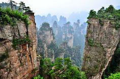 Top 4 no man's lands in China (1) - Shentang Bay in Zhangjiajie National Park in northwest of Hunan Province https://plus.google.com/+Simplifyyourlifepluschina/posts/YTRQyqf6wNK