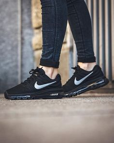 Nike Air Max 2017: Black/White-Anthracite Clothing, Shoes & Jewelry : Women : Shoes : Fashion Sneakers : shoes amzn.to/2kB4kZa
