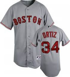 1.Features a button front with the Red Sox decoration and trim 2.Full or left chest authentic Stitched team application and Players full back name and number 3. high quality production 4.100% polyeste