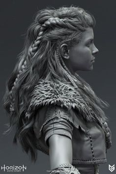 I was given the opportunity to be responsible for the production of hair for Horizon Zero Dawn, a PS4 game developed by Guerrilla Games. It was a fun challenge to learn the intricacy of game hair development and work with my colleagues in code, rigging an