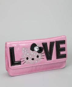 Hello Kitty Pink 'Love' Clutch - because I a can't seem to outgrow my love of HK!