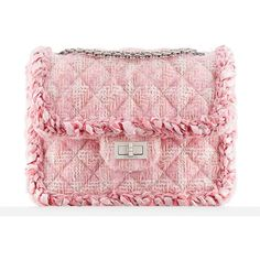Chanel's Supermarket-Themed Fall 2014 Bags, in Stores Now, Look... ❤ liked on Polyvore featuring bags, handbags, chanel bags, chanel, pink bag, chanel handbags and pink handbags
