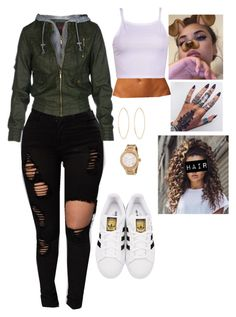 """""""Untitled #722"""" by bennysgirl on Polyvore featuring adidas Originals, Lana and Michael Kors"""