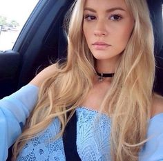 Image result for female models with blonde hair and brown eyes