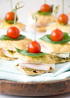 Bladerdeeg sandwiches - Laura's Bakery