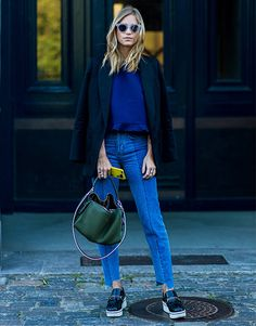 ASOS Fashion & Beauty Feed: This street-style queen has all the denim dreamin' you need
