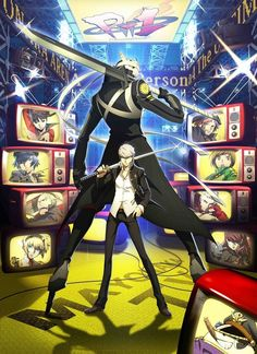 Persona 4 Arena ~Having a blast playing this game.